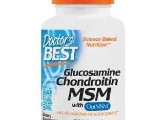 Glucosamine Chondroitin MSM with OptiMSM, 240 Veggie Caps