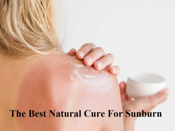 The Best Natural Cure For Sunburn