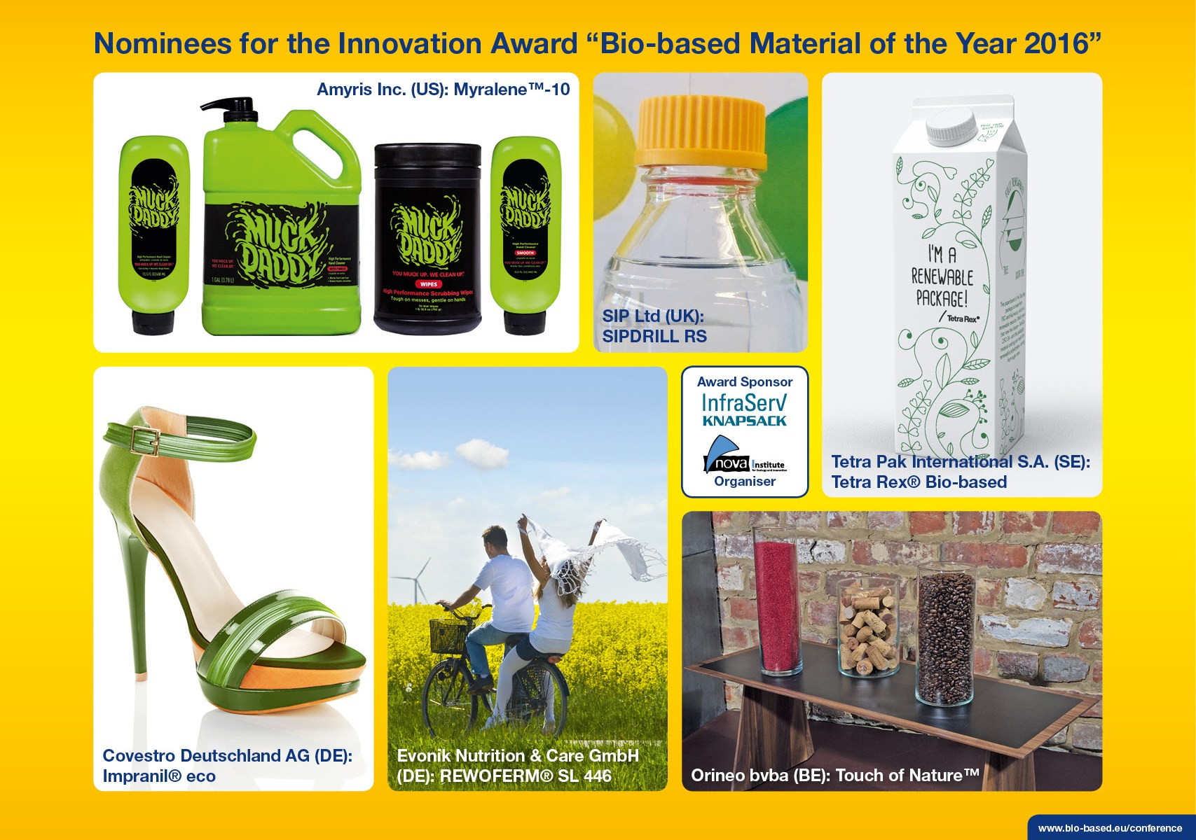 bioplastic material of the year 2016