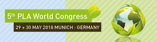 bioplastics events pla congress 2018