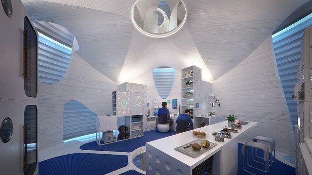 bioplastics house on mars