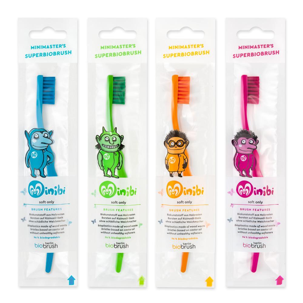 biobrush bioplastics toothbrush
