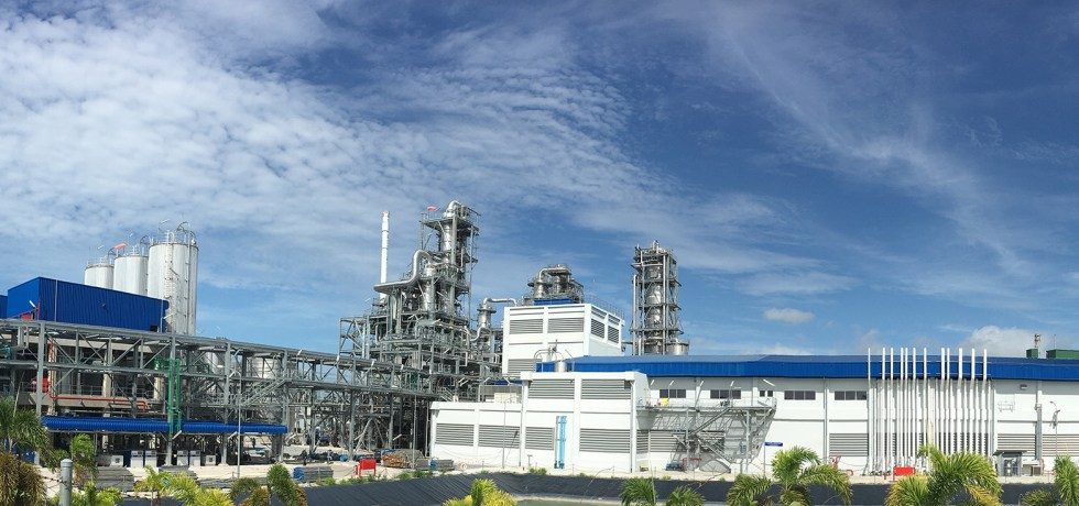 Total Corbion PLA plant Rayong Thailand