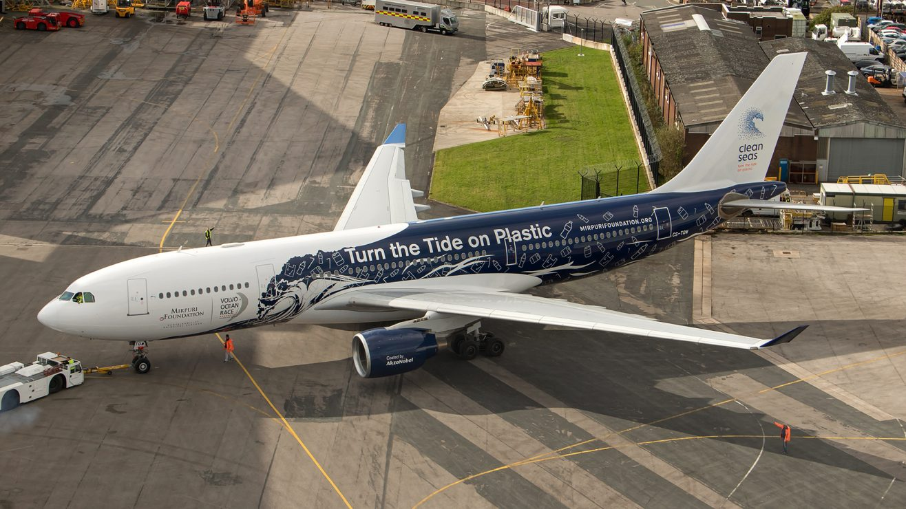 airline company plastic ban