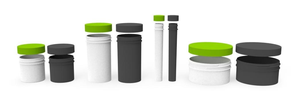 Cannabis industry Bioplastics packaging