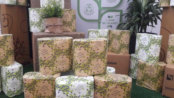 paper bioplastics packaging tissue