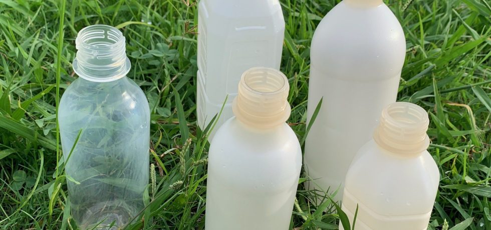 Biodegradable Bottle PLA + Nano Cellulose