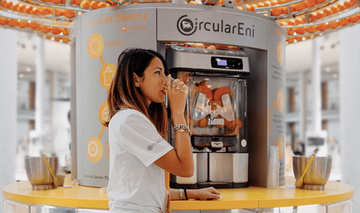 bioplastics made from orange peel