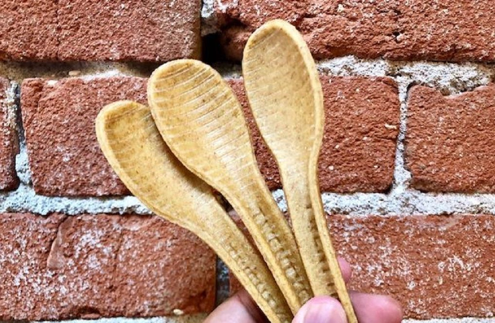 edible grain cutlery