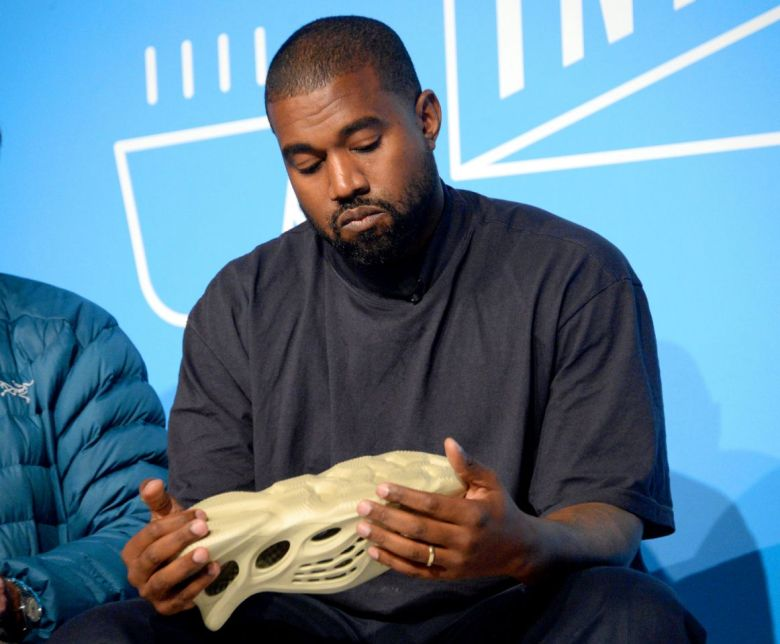algae shoes bioplastics kanye west