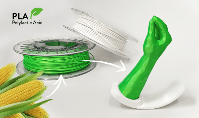made in italy pla 3D print bioplastics