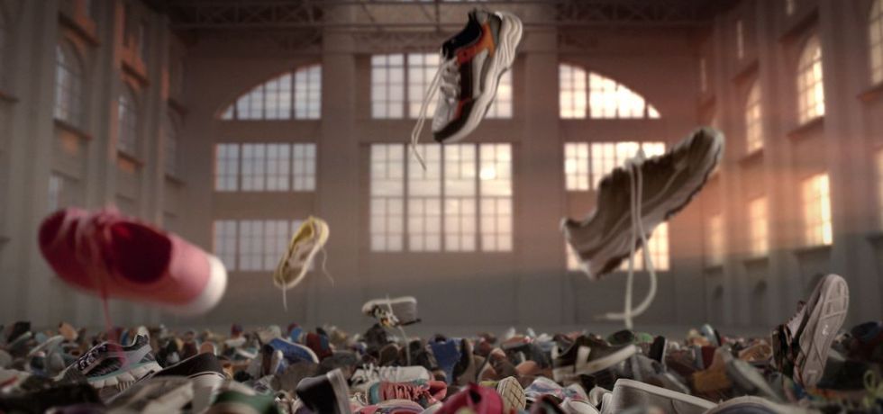 biodegradable shoes super bowl