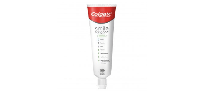 colgate recyclable tube