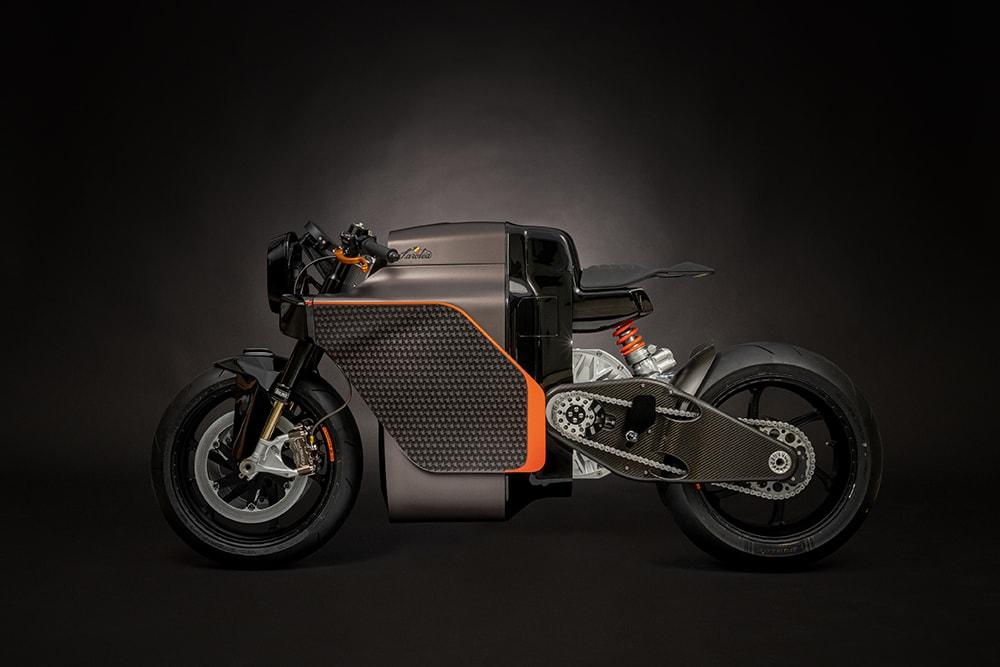 3D printed PLA motorbike
