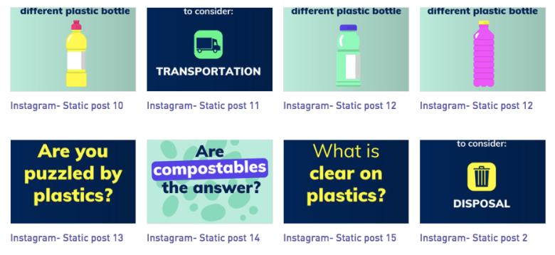 clear on plastics