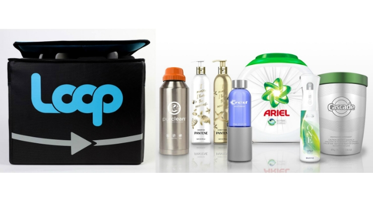 loop reusable and refillable packaging