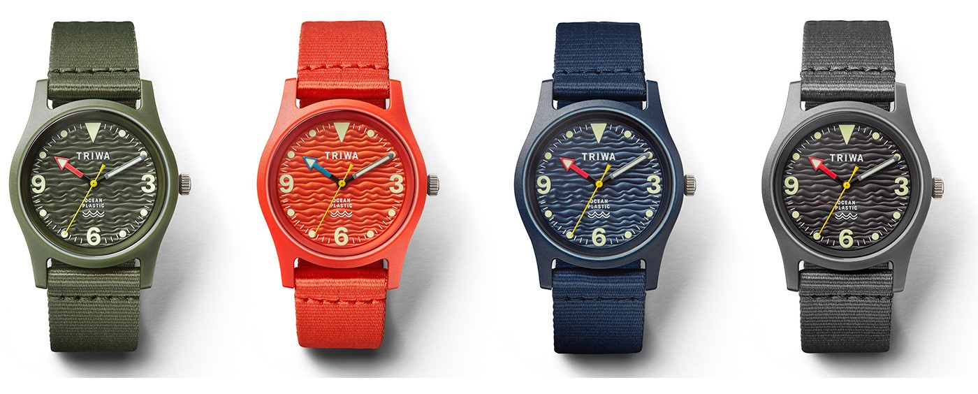 ocean plastic watches