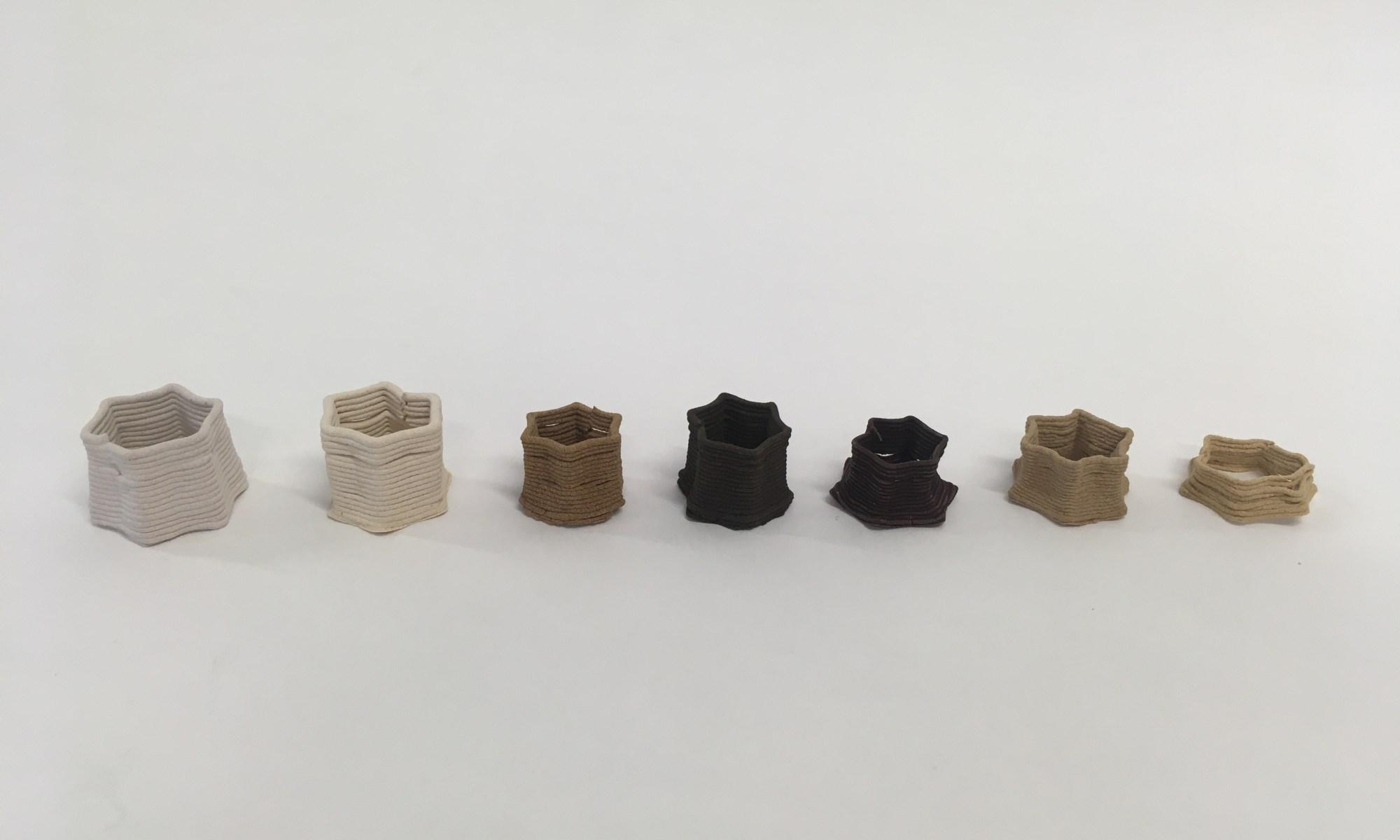 mussel shell 3D print