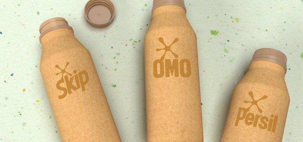 unilever paper bottle