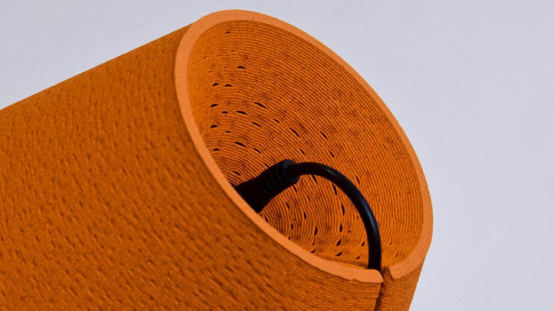 krill design orange peel lamp