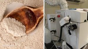 Зеолит-прах-лаборатория