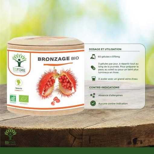 Utilisation bronzage bio