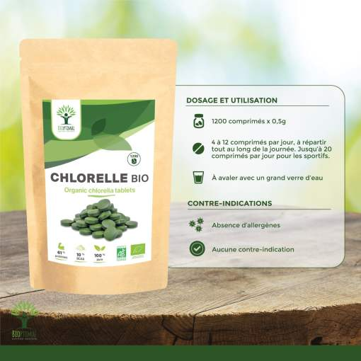 Utilisation chlorelle bio