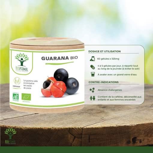 Utilisation Guarana Bio