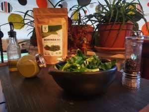 Vinaigrette moutarde et moringa