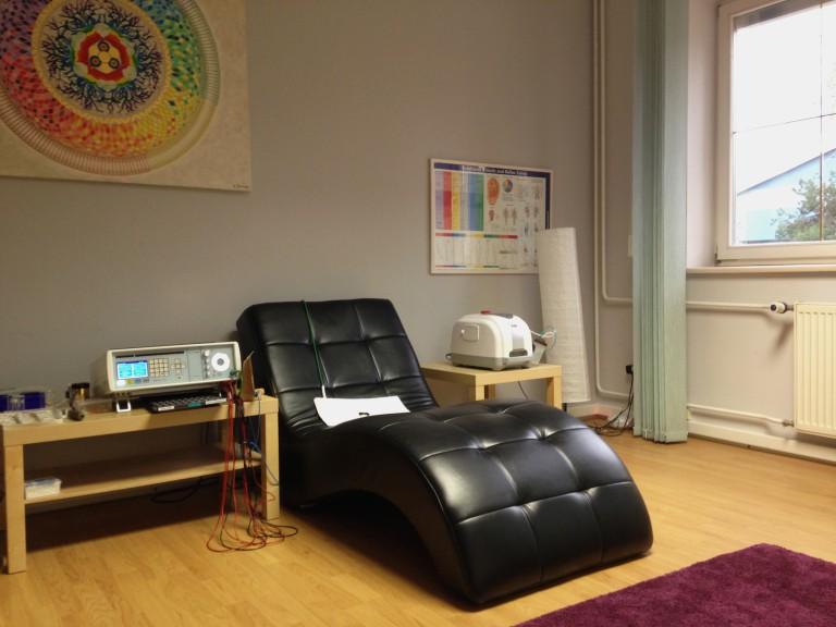 Relaxačné kreslo - biorezonančné centrum
