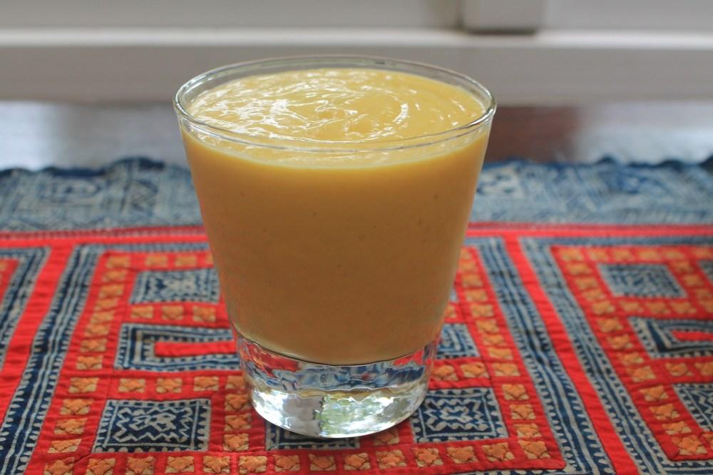 2.274 Smoothie à la mangue avec poudre de topinambour-Recette (sans gluten)