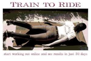 Train to Ride - marketing banner