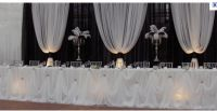 Tablecloths, Chair sash, centerprieces and much more ...