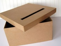 Paper mch boxes: Joann's, Michaels, Hobby Lobby?