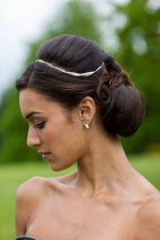 kandace's wedding chignon
