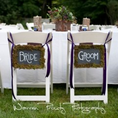 Wedding Bride And Groom Chairs Plastic Adirondack Capers Catering The Knot