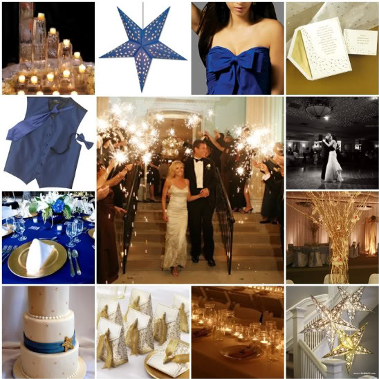A little help with a star theme. :  wedding Star Theme