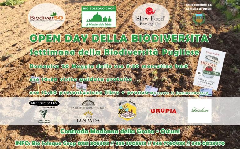 Open Day della Biodiversità + presentazione libro Cinzia Scaffidi