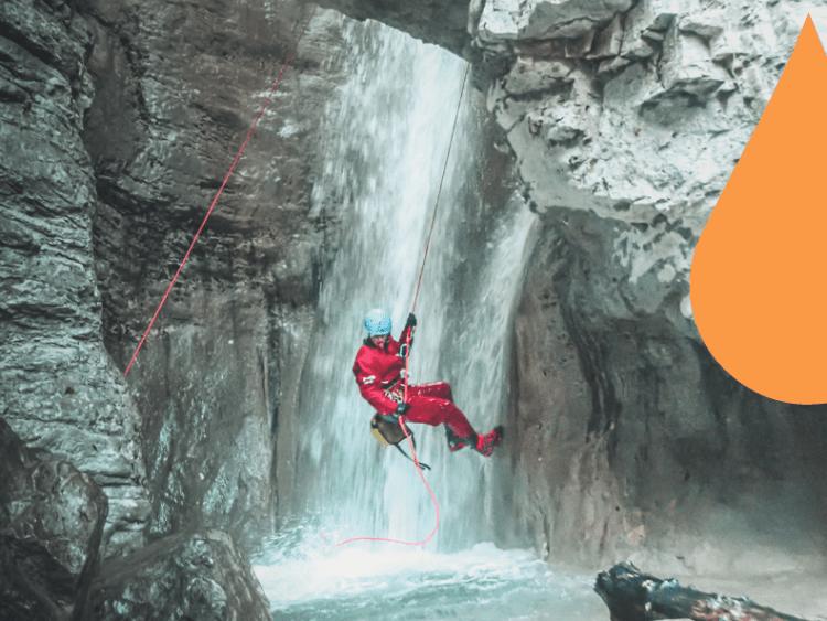 Venez vivre une aventure exceptionnel dans le Vercors ! Une journée de canyoning !