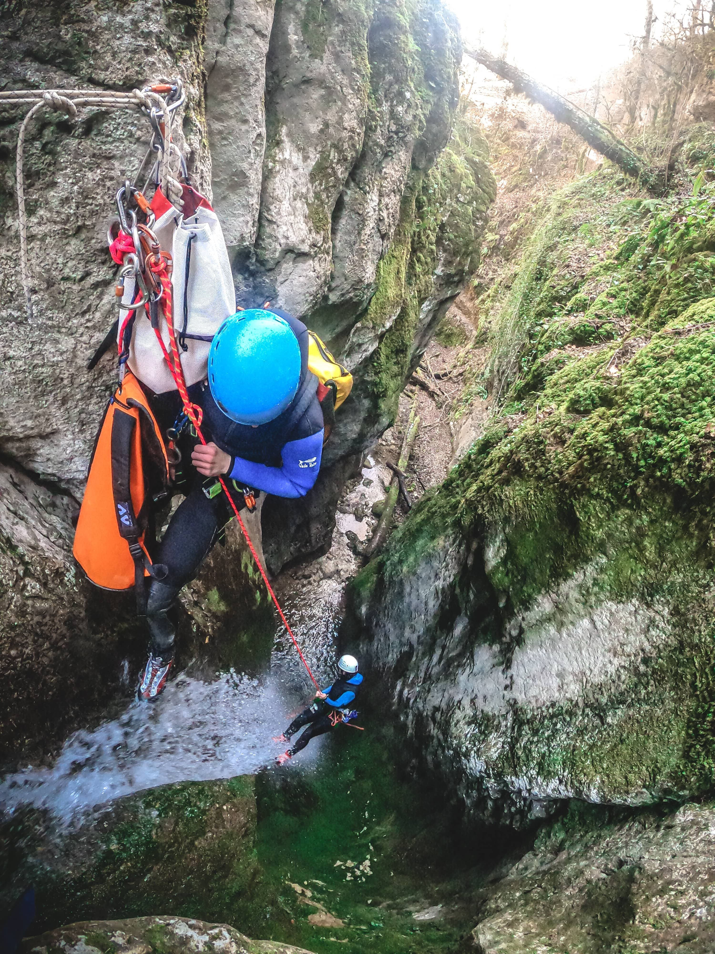 Stage canyoning Vercors