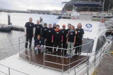 Team on the boat (Craig Turner)