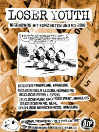 Loser Youth Tourplakat