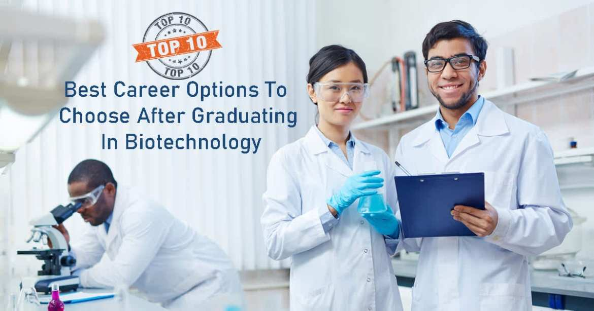 Career Options In Biotechnology