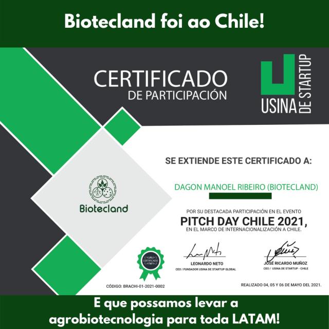 Biotecland foi ao Chile!