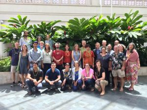 The ATBC Council at the Annual Meeting in Hawai'i (photo by E. Bruna)