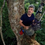 Fig. 7. Dr. Steve Yanoviak in the field in Panama. (Photo: Christian Ziegler)