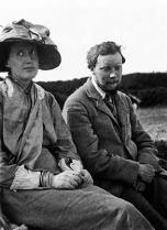 Virginia Woolf et son beau-frère Clive Bell, en 1910