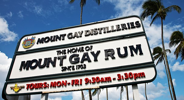 Mount Gay Distillery just outside Bridgetown © Australian Bartender