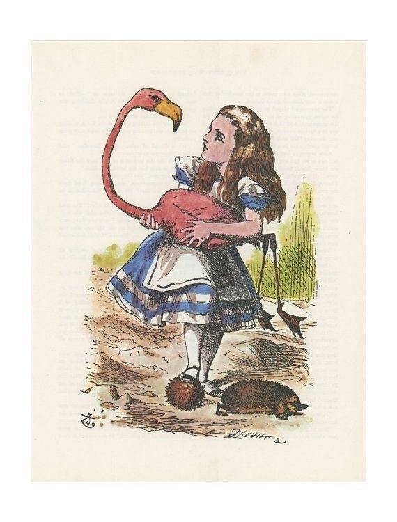 Fig 4. Illustration taken from Alice's Adventures in Wonderland