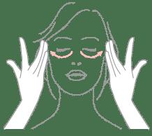 Crema contorno de ojos aplicable para atenuar las líneas de expresión
